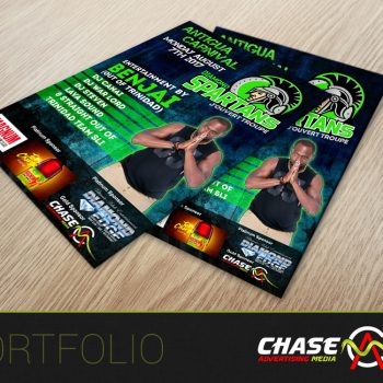 Spartans flyer